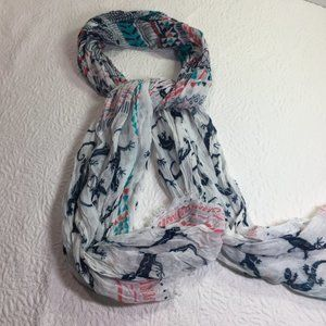 Boho Look Gecko inspired scarf
